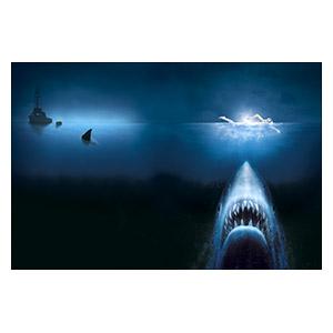 Jaws. Размер: 45 х 30 см